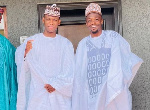 Ahmed Musa (right) at the event