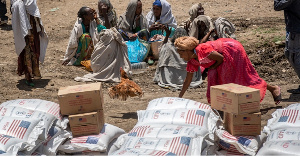 The conflict has left an estimated five million people in need of aid