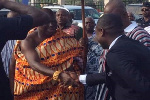 Otumfuo shook my hands and said you are truly a great man - Abeiku Santana brags