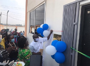 The project was launched by Finance Minister, Ken Ofori-Atta