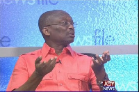 Abdul Malik Kweku Baako, Editor in Chief of the New Crusading Guide Newspaper