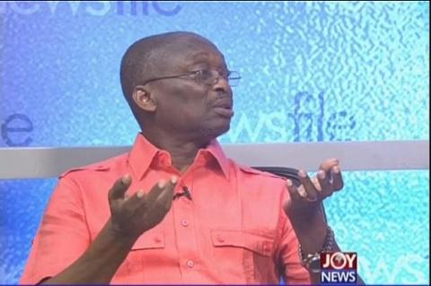 Kweku Baako, Managing Editor of the New Crusading Guide newspaper