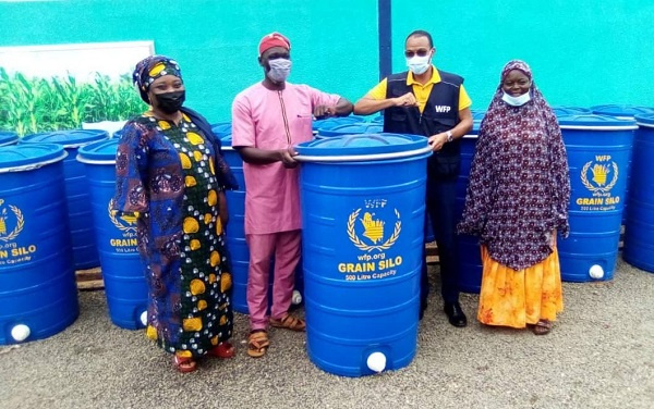 WFP supports grain farmers with storage facilities