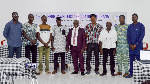 Some national executives of SWAG with the Northern Region executives