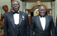 Otumfuo Osei Tutu and President Akufo-Addo