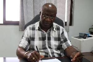 Dr William Ahadzie, former NIA Executive Secretary