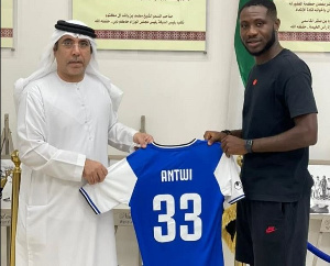 Dennis Agyare Antwi has joined UAE Division One side Al Taawon Club