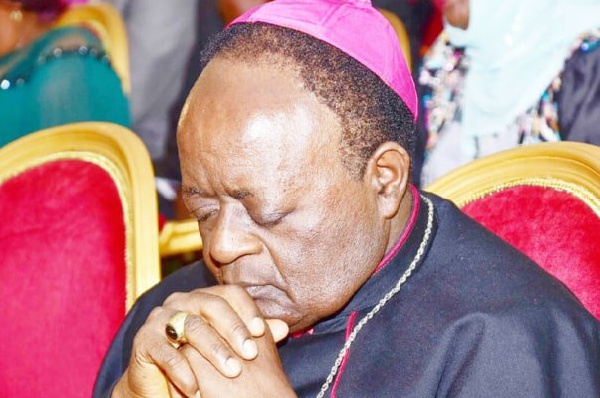 The Archbishop of the Archdiocese of Kampala, Dr Cyprian Kizito Lwanga