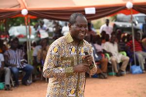 Hon. Joseph Aidoo, COCOBOD CEO