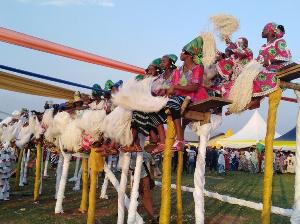 The 'Kurubi dance' promotes chastity in the Wangara Community