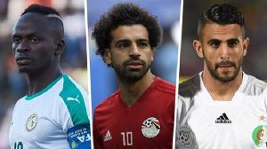 Mane, Salah and Riyad Mahrez vie for the top award