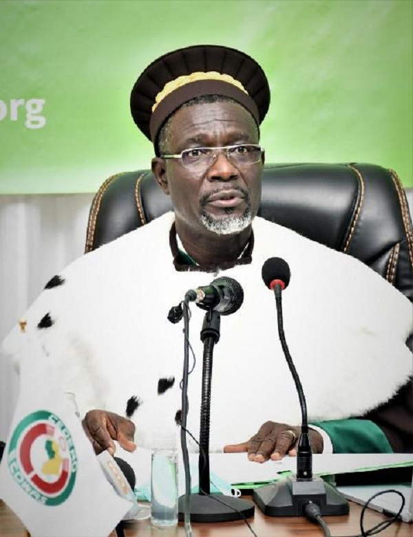 ECOWAS Court President calls for cooperation in implementation of decisions