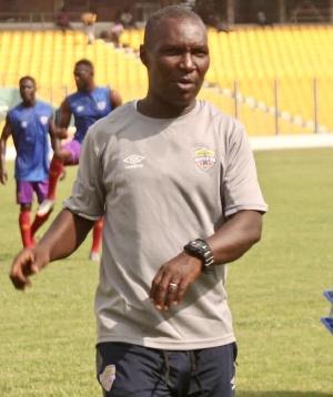 Newly appointed coach of Hearts of Oak,Edward Nii Odoom