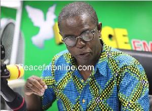 Kwesi Pratt Jnr, Editor in Chief of the Insight newspaper