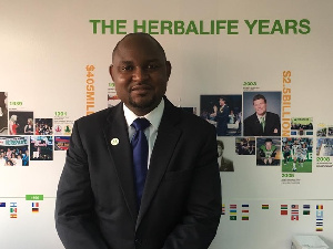 Clarence Amenyah has been appointed as Herbalife's new country director