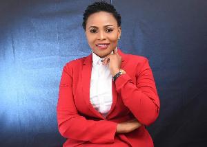The author, Stacy Amewoyi