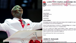 Winners Chapel pastor accuse church for termination of employment say dem no 'grow' dia branch - See how pipo react