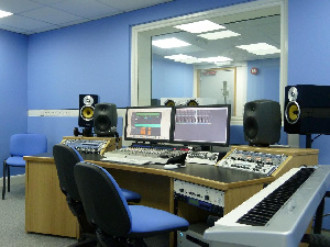 The recording studio will be built in Kumasi, Accra, Tema and Takoradi