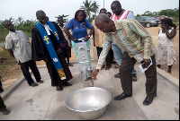 Communities within the Nsawam-Adoagyiri Municipality will benefit from the borehole