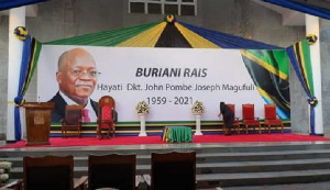 Tanzania buried Magufuli on March 26 after a weeklong funeral