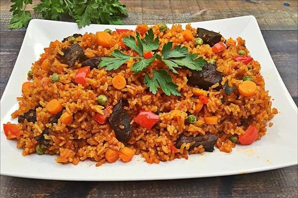 A bowl of jollof rice (file photo)