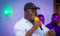 Fred Kyei Mensah lost his studio during the disaster