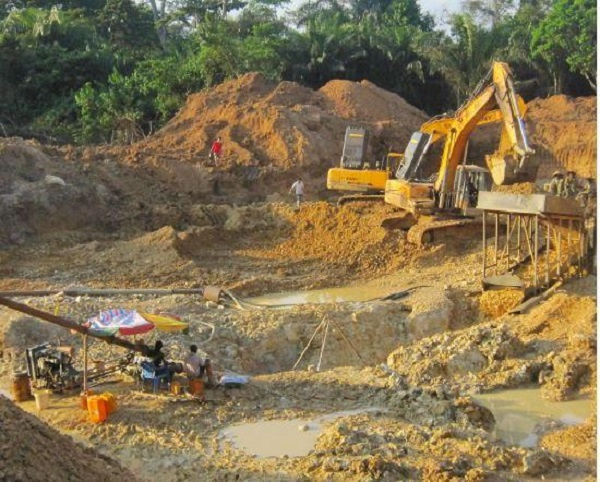 About 30 percent of Ghana's total gold output comes from the ASGM sector