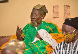 Overlord of the Mamprugu Kingdom, His Majesty Nayiri Nabohagu Mahami Sheriga