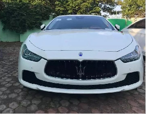 Shatta Wale kept his word and gave out this sweet ride as a gift