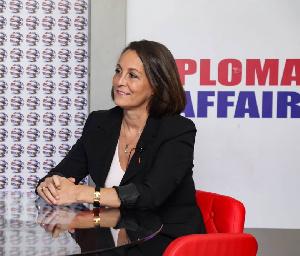 France Ambassador to Ghana, H.E Anne Sophie Avé