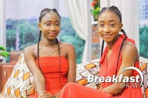 Linda and Lydia when they appeared on GBC Breakfast show this week