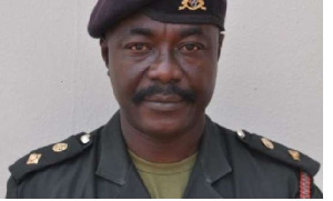 Director of Public Relations, Ghana Armed Forces, Colonel E. Aggrey