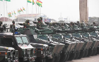 File photo of Ghana Armed Forces