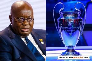 Tottenham Hotspur fan, Nana Addo Dankwa Akufo-Addo