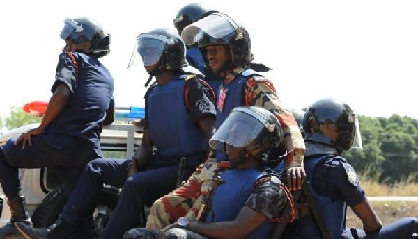Armed police storm NDC office as irate youth rampage Somanya