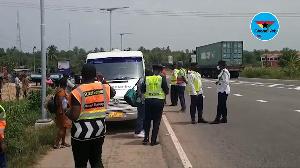 Outright indiscipline at Akim Asafo accident scene despite police, NRSA presence