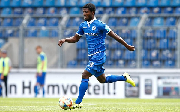 German side FC Magdeburg releases Manfred Kwadwo