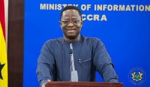 Minister of Energy, John Peter Amewu