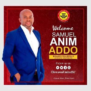 GFA Executive Council member, Samuel Anim Addo