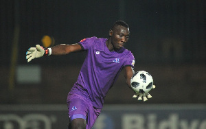 Black Stars goalkeeper Richard Ofori