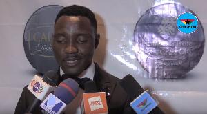 Kwadwo Asamoah declined to answer the question about Nyantakyi's resignation