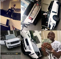 The latest Range Rover Sports Davido gifted himself
