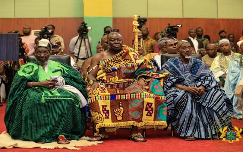 The Committee of Eminent Chiefs made up of the Asantehene, the Nayiri and the Yagbonwura