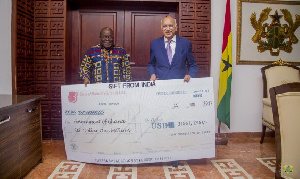 Akufo Addo India Donation