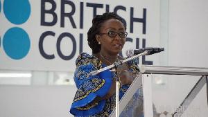 Dzifa Gomashie British