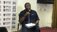 Elvis Afriyie Ankrah, Former Sports Minister in the erstwhile Mahama administration