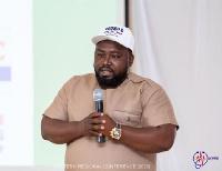 Alpha Nyarko, Eastern Regional Chairman for Volunteers Committee of the Election 2020