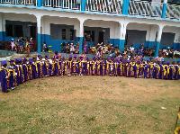 Nursery and Kindergarten Pupils of St John Paul II School in Takoradi