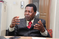 CEO of National Health Insurance Authority (NHIA), Dr. Samuel Annor