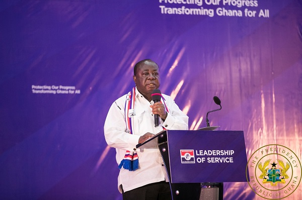 FULL TEXT: Freddie Blay\'s speech at NPP\'s press conference